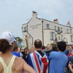 Olympic Torch passes Absolute Pubs site on final leg