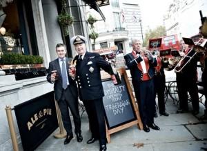 Fullers pub opening