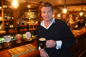 tom davies with old ale jan 15
