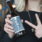 Beer drinkers stick two fingers up to gluten for the launch of BrewDog's first gluten free bee