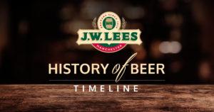 JW Lees History of Beer Timeline