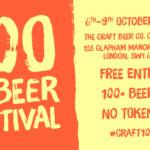 London's biggest Pub Beer Festival returns this October