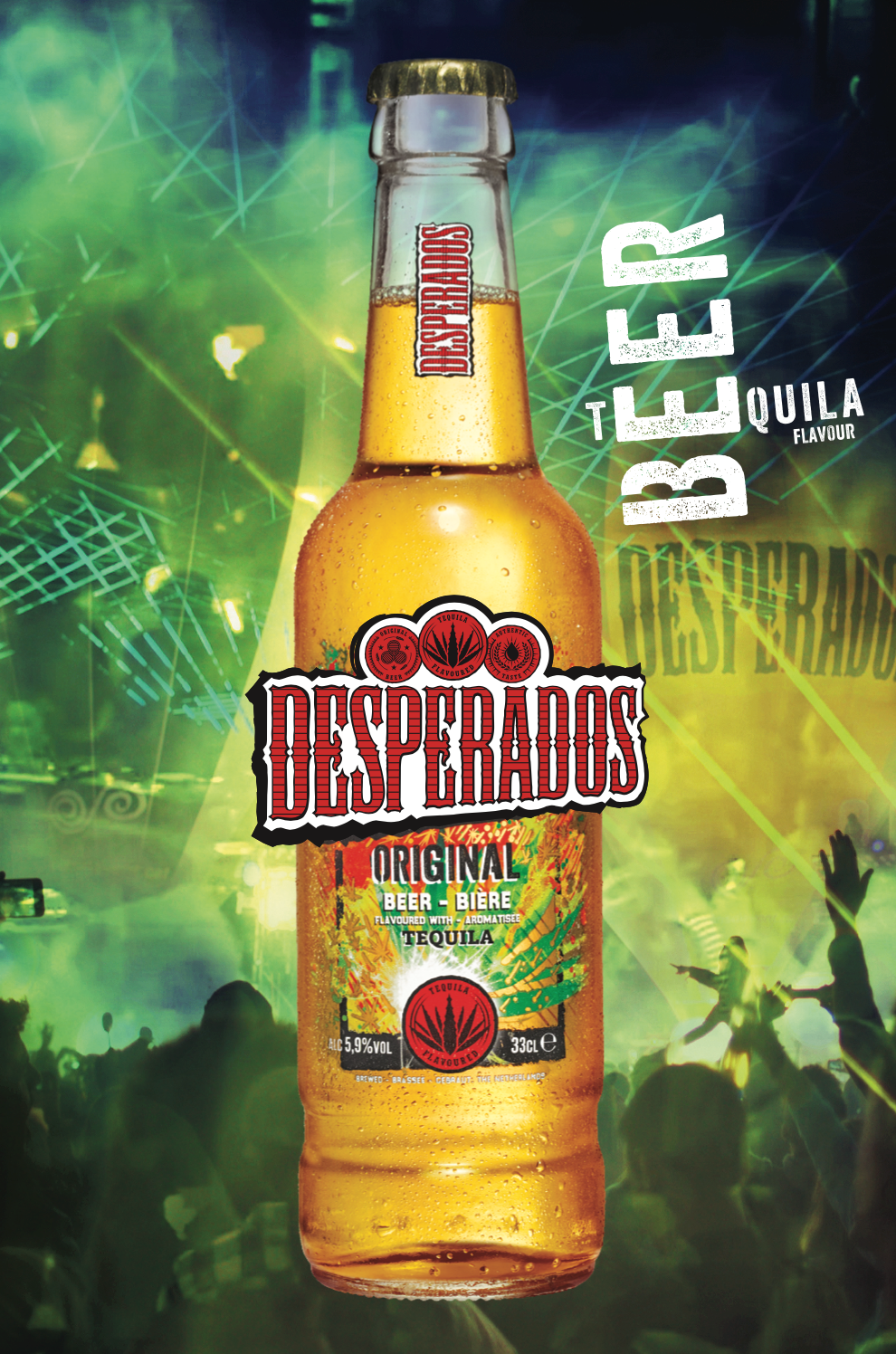 Desperados Dials Up The Party With Its New Brand Design The British Guild Of Beer Writers