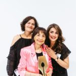 From left to right: Genevieve Taylor, Madhur Jaffrey and Sumayya Usmani
