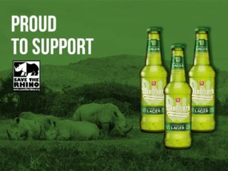 Windhoek Lager fundraising for Save the Rhino International