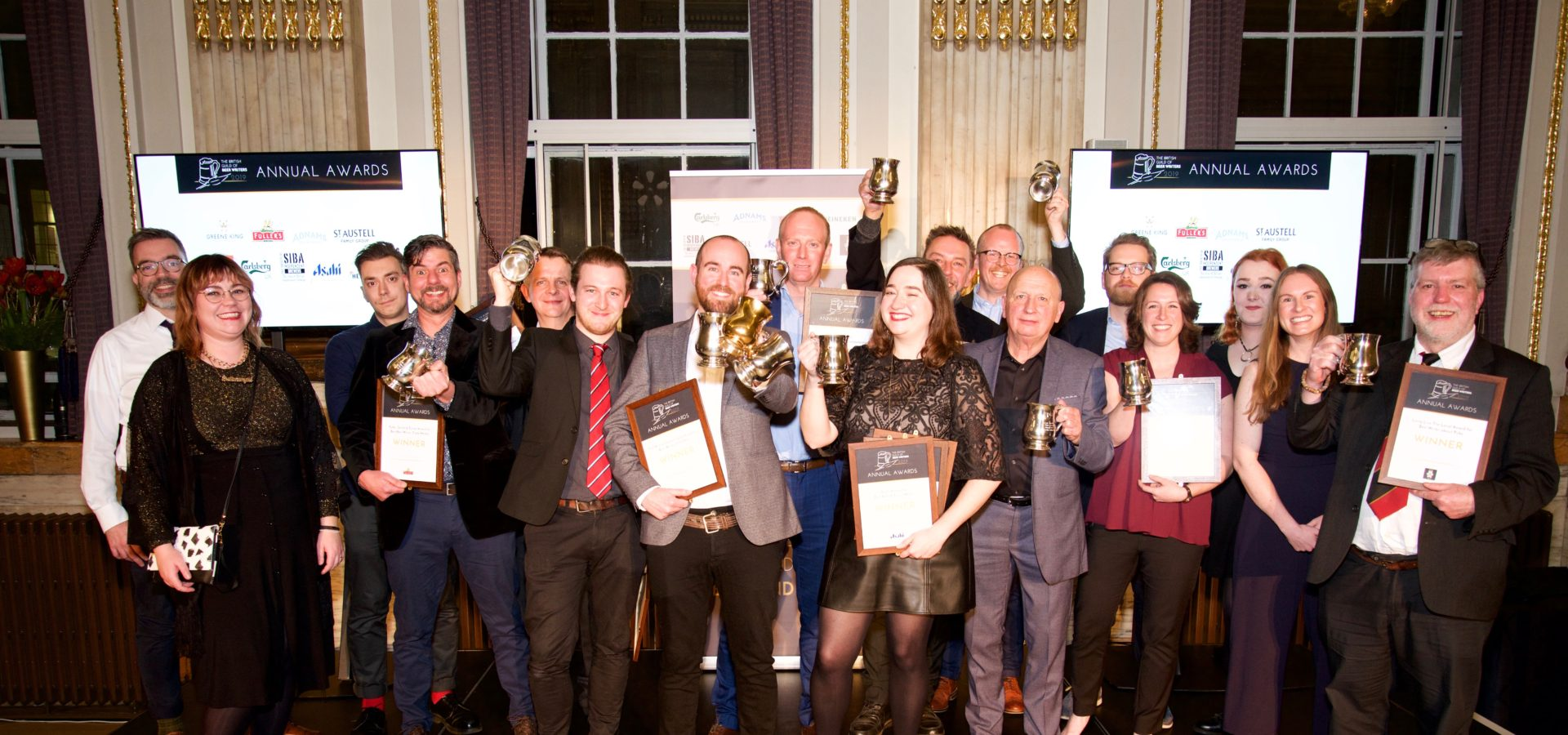 The 2019 Awards winners at One Great George Street