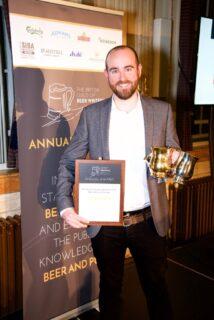 Jonny Garrett, Beer Writer of the Year